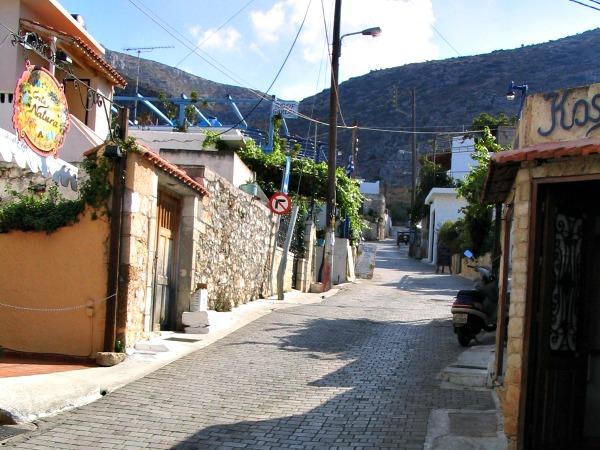 Een authentiek dorpje op Kreta