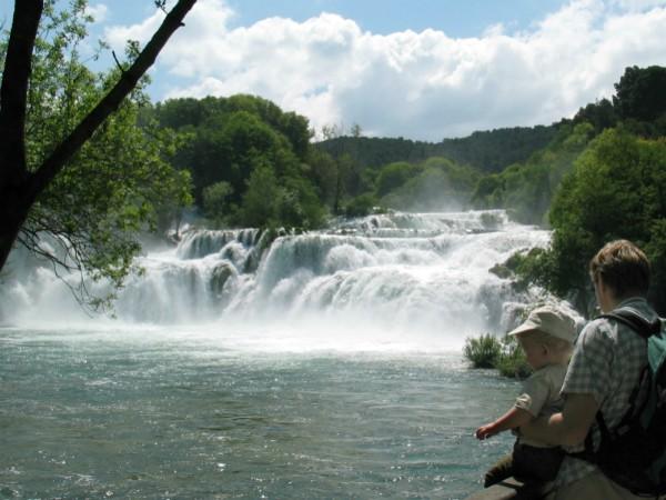 Genieten van de Krka watervallen