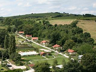 Overzicht vakantieparkje La Bonne Vie