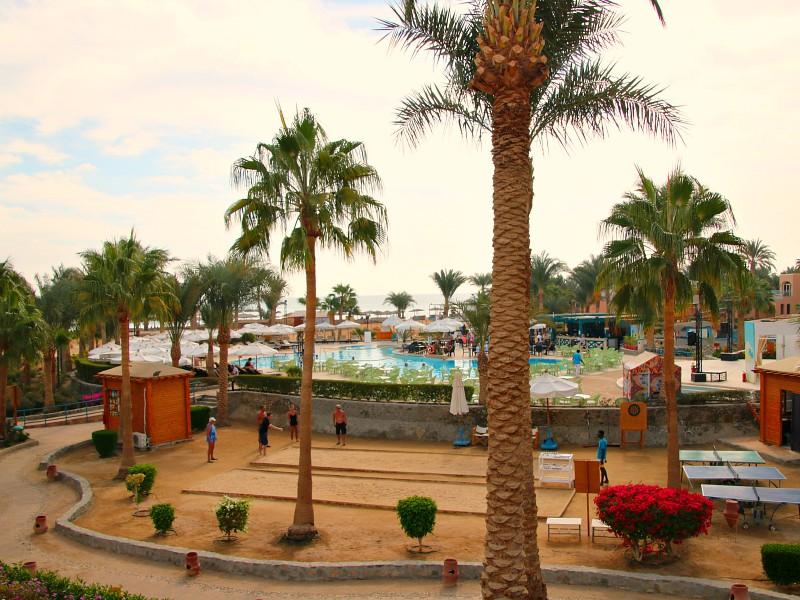 Labranda club Paradisio zwembad en jeu de boule