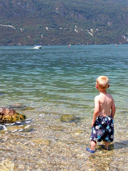 Heerlijk afkoelen in het Lac du Bourget