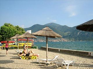 Lago d'Iseo, één van de andere meren in het Merengebied in Noord-Italië