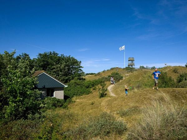 Vakantiepark Landal Sluftervallei in de duinen van Texel