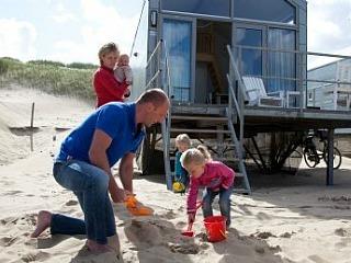 Strandhuisjes bij Landal Beach Resort Ooghduyne