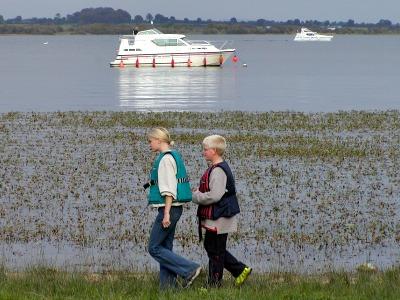 Lekker struinen langs de Shannon rivier