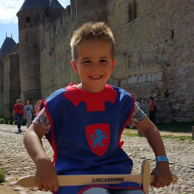 In de prachtige kasteelstad Carcassonne