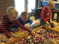 Lekker bouwen met Lego