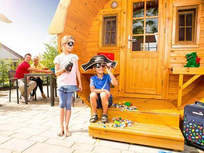Piraatje spelen bij Legoland Holiday Village