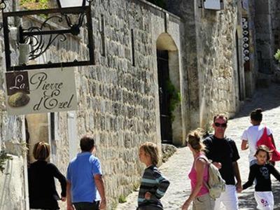 Het dorpje Les Baux de Provence