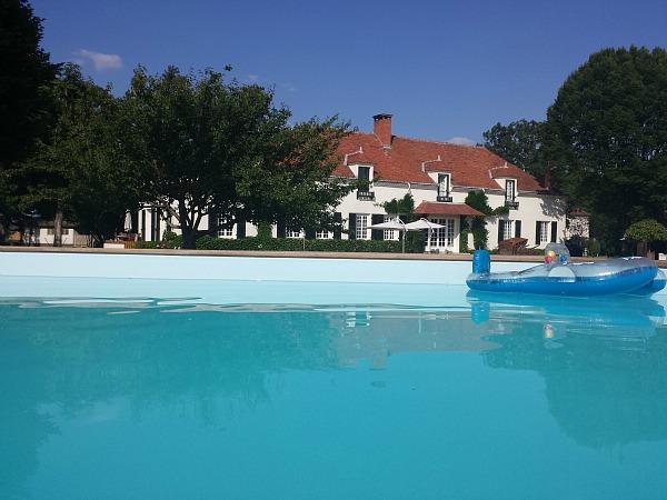 Domaine les Gandins zwembad