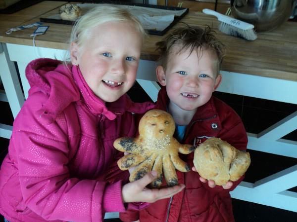brood gebakken bij de Bonte Belevenis