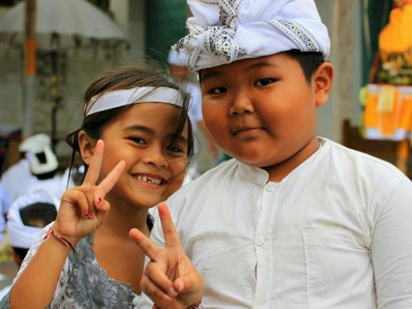 Ontmoet de local kids in Indonesië