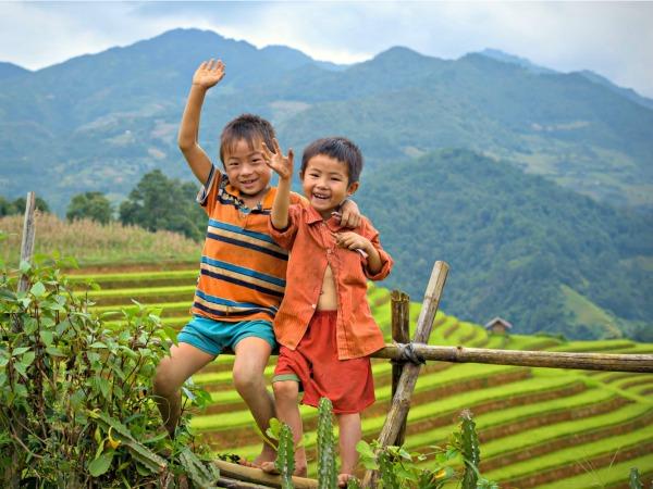 Lokale vriendjes maken in Laos