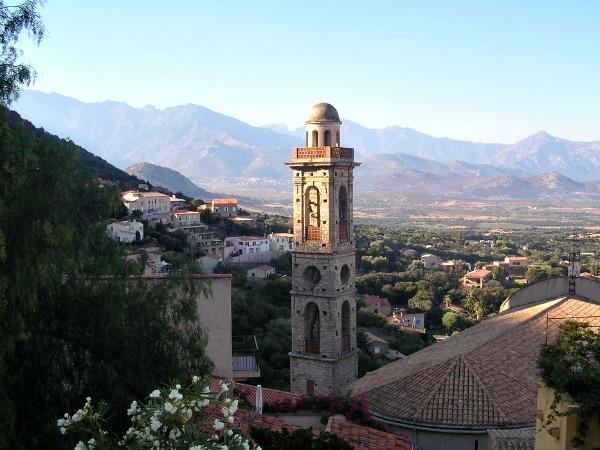 Het mooie dorpje Lumio