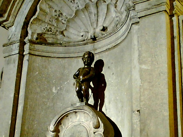 Manneken Pis in Brussel