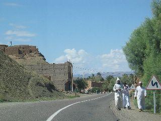 Op weg terug naar Ouarzazate