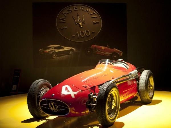 Maserati in het Automuseum van Turijn