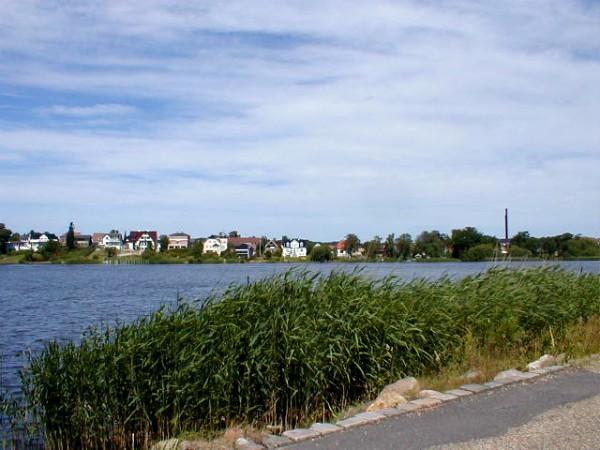 Het meer van Silkeborg