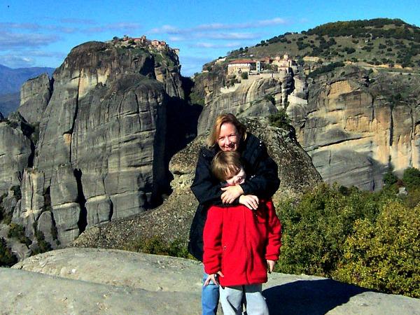 Poseren bij de prachtige Meteora kloosters