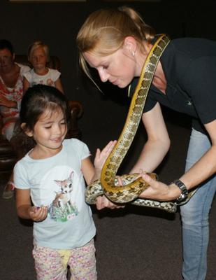 Slangen aaien