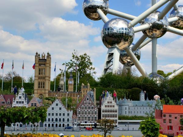 Mini-Europe en het Atomium