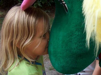 een kus van Caatje van Molecaten