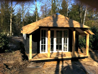 Nieuwe bungalows in de natuur bij Molecaten Leemkule