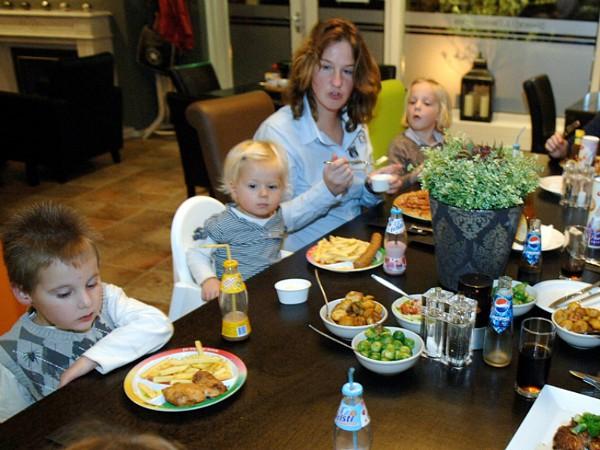 Uit eten met kinderen bij Mölke