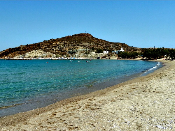 Strand van Molos
