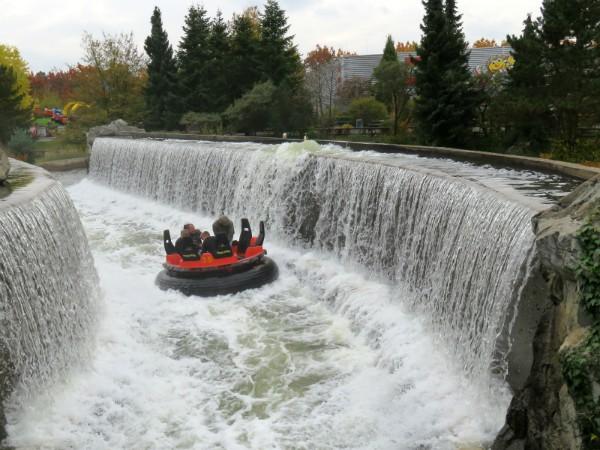 Mountain rafting