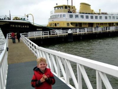 Een tochtje met de boot over het IJsselmeer