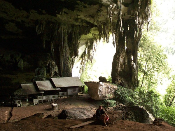 In de Niah Caves