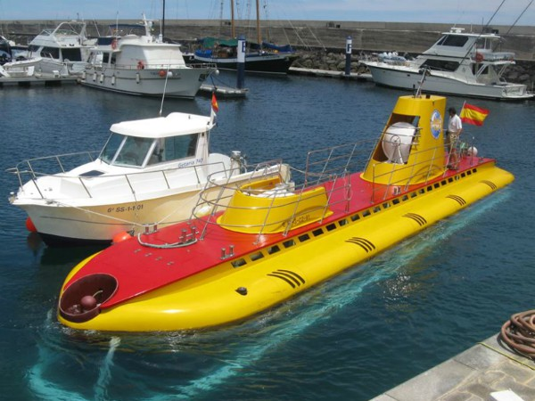 Een tripje met een onderzeeër, hoe cool is dat?