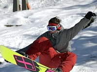 Snowboarden bij Hotel Kohlerhof