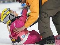 Voor het eerst skiën