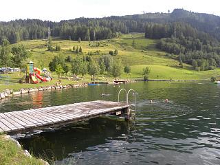 Het meertje bij Sportcamp Woferlgut