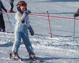 Beetje eng die slalom voor een medaille