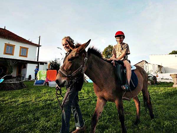 Paardrijden met Loek en Chamoor