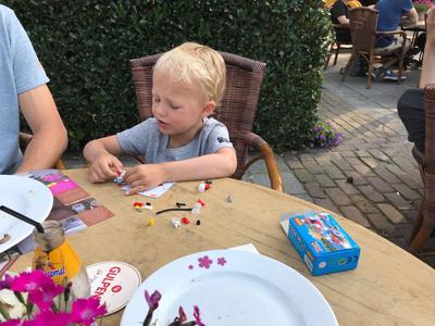 En een Lego-kadootje om te bouwen!