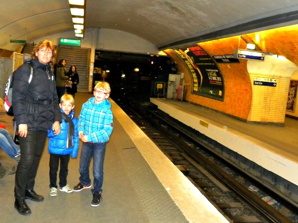 De Parijse metro