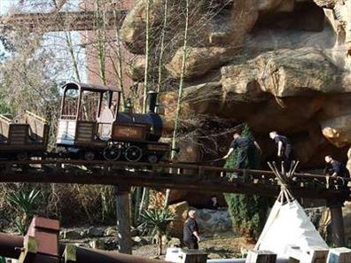 Colorado adventure achtbaan in Phantasialand