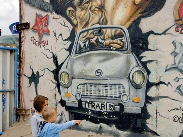 Een stukje Muur in Berlijn