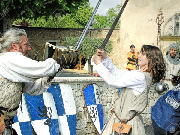 Leer zwaardvechten als een ridder