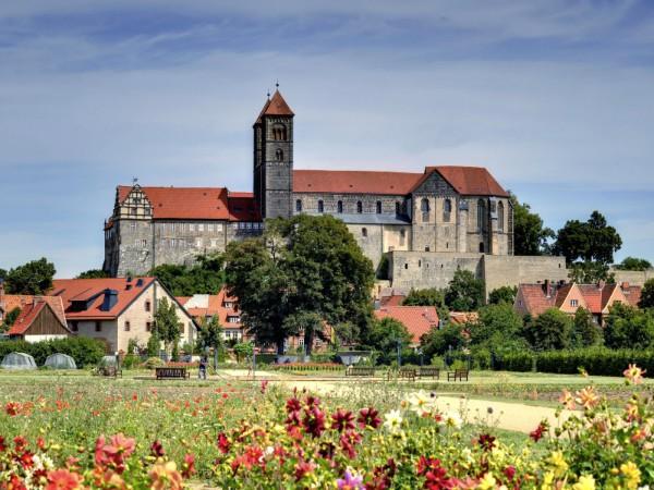 Burcht van Quedlinburg in de Harz