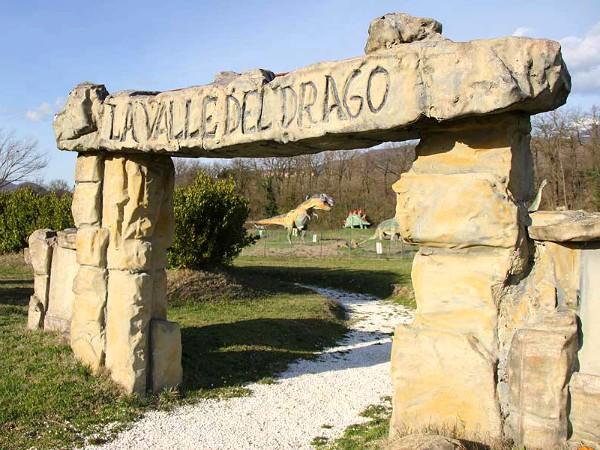 De vallei van de dino's bij Pietre del Drago
