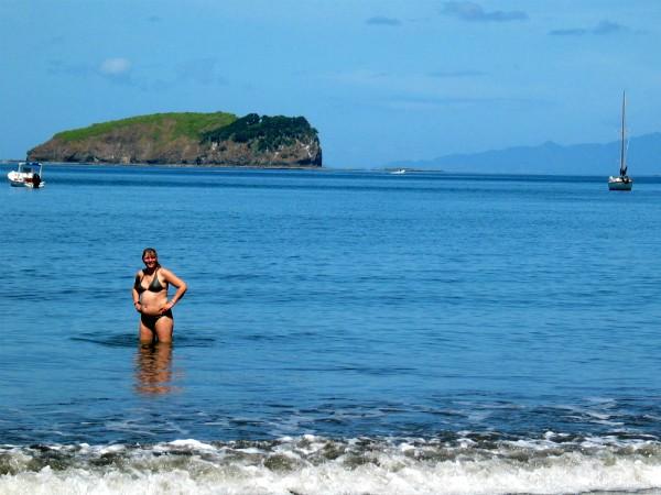Playa del Coco op het schiereiland Nicoya