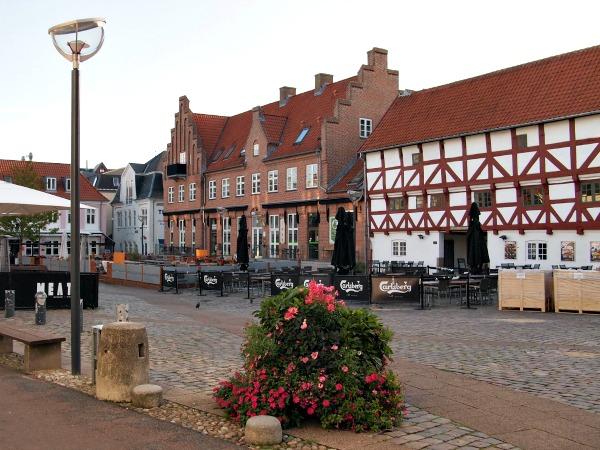 Mooi pleintje in Aalborg