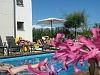 Zwembad bij Casa des Flores