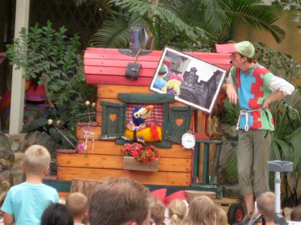 Puk en Pelle show in Lommerbergen