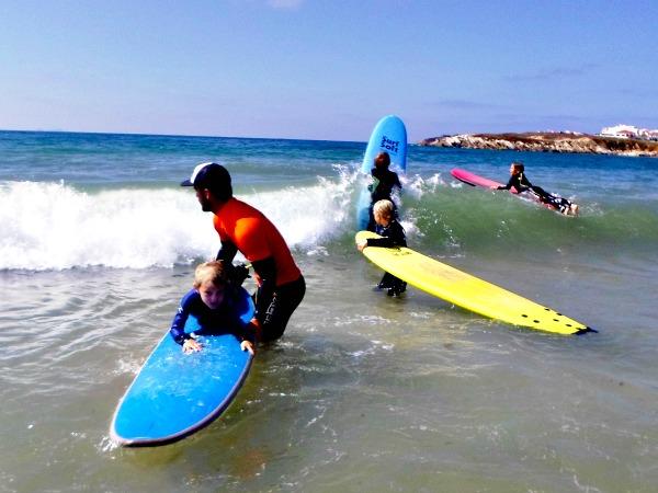 Surfles aan de Costa de Prata